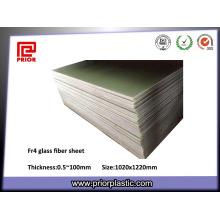 Folha de fibra de vidro epóxi Fr-4 com antiestático