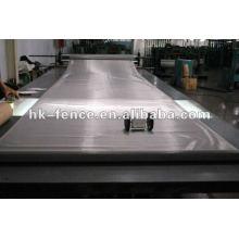 Rede tecida de pano de aço inoxidável Tela tecida de pano de aço