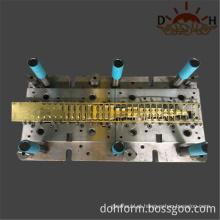 Fabricante de molde para matriz de estampagem progressiva de chapa de metal
