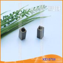 Позолоченный металлический конец шнура для одежды KE1070 #