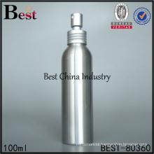 fine mist aluminum 100ml spray bottle