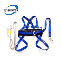 Cinturón de arnés de seguridad de cuerpo entero