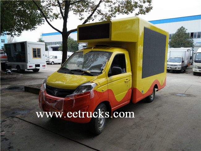 LED Mobile Advertising Truck