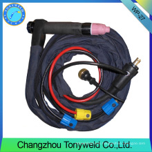 auto TIG welding torch WP-27 Series Weldcraft auto welding gun