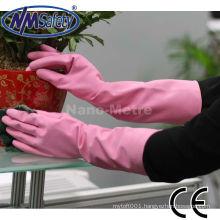 NMSAFETY women in rubber gloves