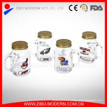 Декоративный дизайн Массовый сок из стекла Mason Jar Оптовый ящик Mason