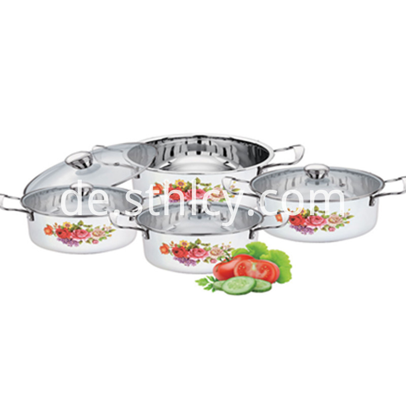 Stainless Steel Induction Cookware Set