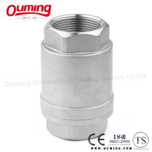 Вертикальный обратный клапан с резьбой 2PC