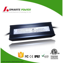China manufacture 5A 24v 120W triac dimmable led driver for led light bar