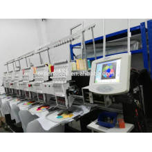 8 head computer embroidery machine / industrial cap embroidery machine price