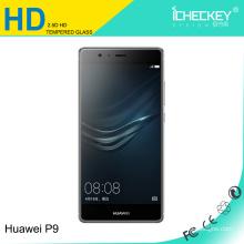 Protecteur d'écran en gros en verre trempé Icheckey pour Huawei P9