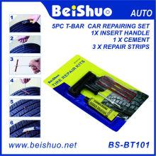 Ремонтный комплект для прокола шины для аварийных автомобилей для бескамерных шин