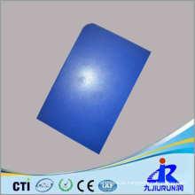 Folha plástica azul do bom preço azul
