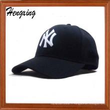 100% acrylique maille broderie maille casquettes de baseball