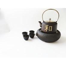 Cast Iron Tea Pot Set