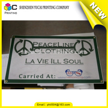 Printed mesh banners, trade show banners