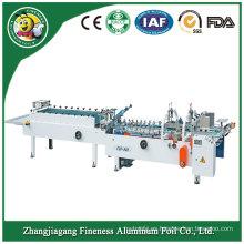 China Carpeta de alta velocidad promocional y máquina Gluer