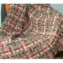 Jet de laine, couverture de laine, jeter (WT-090141)