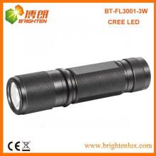 Поставка завода EDC высокой мощности 180 люмен алюминиевый XPE 3W CREE светодиодный фонарик факел