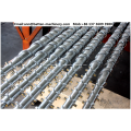90 * 33 cilindro de parafuso único para tubo PPR / HDPE
