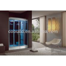 K-706 coulissant style ouvert et salle de vapeur salle de stam salle intérieure sauna et salle combinée de vapeur