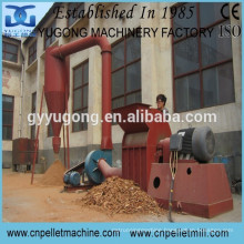 CE approved Yugong SG series wood hammer crusher,wood sawdust crusher