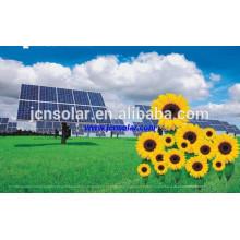De alta calidad A-Grado 18v 100w Panel Solar que hace la máquina para el sistema solar ligero del LED