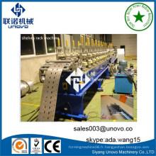 Machine à rouleaux d'estampage de porte d'obturateur en métal industriel