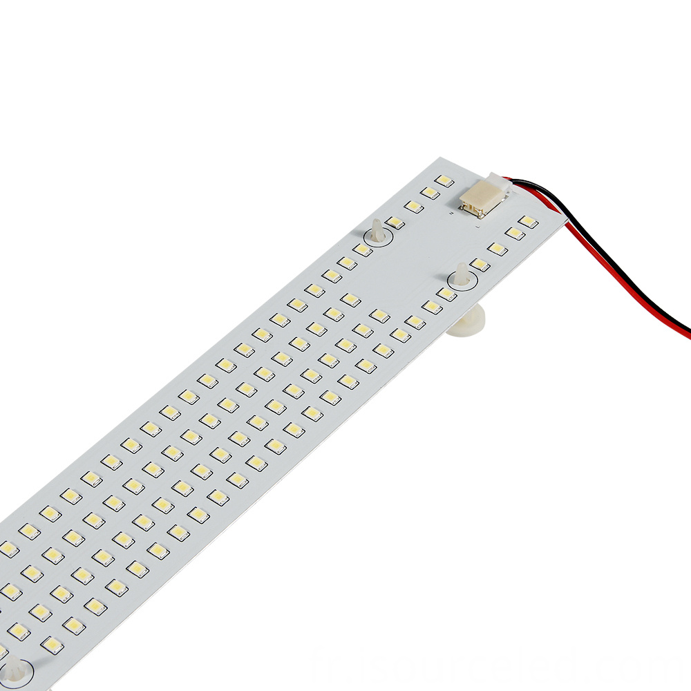 Frontal picture of Square custom smd 2835 15W AC COB Module