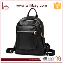 Elegant Travelling Backpack Shoulder Bag Tote Leather Bag