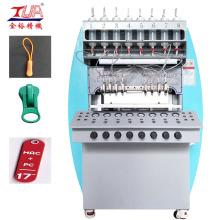 máquina expendedora de tiradores de cremallera