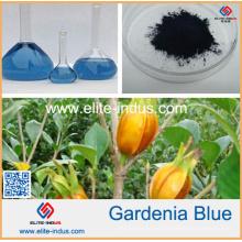 100% Pure Natural Food Cor Azul Gardenia Azul Pigmento