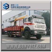 10t Telescopic Boom Crane Beiben 6X6 Truck Mounted Crane