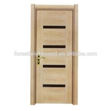 Diseño de puerta de madera interior de melamina