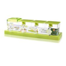 Набор пластиковых приправ для кухни