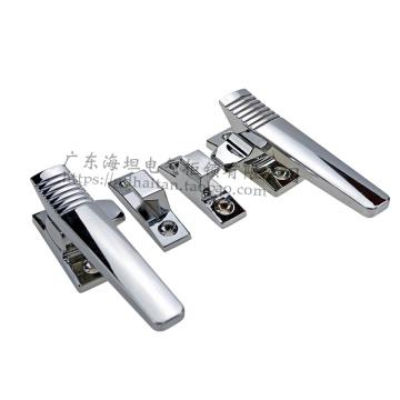 Manija de puerta giratoria hermética de aleación de zinc