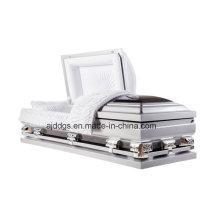 Silver and Black Casket (Oversize)