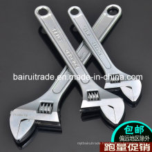 Forged Plated Adjustable Wrench for China