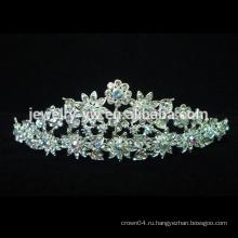 Свадьба / свадебный навалом принцесса Rhinestone Кристалл красоты Pageant Короны и диадемы