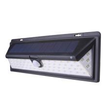 Luz de pared mejorada del sensor de movimiento solar del jardín 66LED