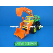 New Product Plastic Toy Feel Wheel Construction Car (749106)