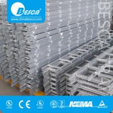 Bandeja de rack de cabos do tipo HDG Ladder (Certificado UL e CE)