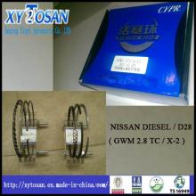 for Nissan Diesel / D28 (2.8 TC / X-2) Piston Ring