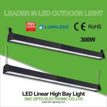 material linear conduzido ip66 do corpo da lâmpada da liga de alumínio