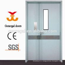 Hospital utility 304 stainless steel door