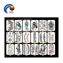 Arm Tattoo Stickers Waterproof Painted Body Art Flower Pattern (Customized Tattoo Design)