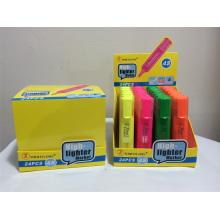 Alta qualidade 6 cores chinês caneta fluorescente