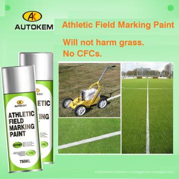 Краска для окрашивания в полевых условиях, Атлетическая краска для нанесения надписей на местности, Аэрозольная маркировочная краска