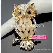 Mais recente jóia barata broche de coruja de moda