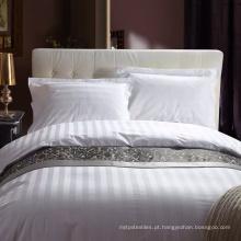 Conjunto de roupa de cama de algodão para hotel